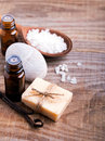 Spa Still Life On The Wooden Background. Stock Images - 51645064