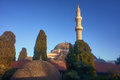 Minaret Of The Mosque Of Suleiman Royalty Free Stock Photography - 51648357