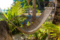 Hammok On Tropical Background, Summer Vacations Stock Images - 51654274