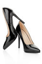 Black High Heel Shoes For Woman Royalty Free Stock Photo - 51658545