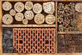 Wild Bee Hotel - Insect Hotel - Detail Royalty Free Stock Image - 51659886