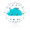 Communications Sector And The Cloud Royalty Free Stock Image - 51659906