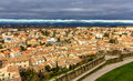 View Of Carcassonne From The Fortress - France Royalty Free Stock Photo - 51664825