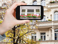 Tourist Photographs Of Facade Of House In Berlin Royalty Free Stock Photo - 51671375