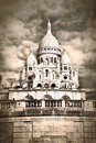 Sacre Coeur Sepia Royalty Free Stock Photography - 51673047