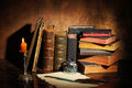 Old Books Royalty Free Stock Image - 51683156