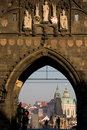 Old Town Bridge Tower Royalty Free Stock Photography - 5177407