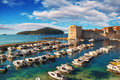Dubrovnik Old Town Pier Stock Photo - 51702780