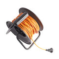 Extension Cord On The Reel Royalty Free Stock Photo - 51705805