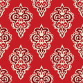Damask Seamless Vector Pattern Florish Royalty Free Stock Image - 51726126