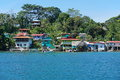 Coastal Caribbean Village On An Island Of Panama Stock Images - 51728564
