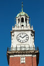 Clock On Bell Tower Royalty Free Stock Image - 51733226