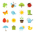 Spring Icons Stock Photography - 51747182