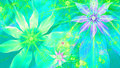 Beautiful Vivid Shining Modern Flower Background In Green,pink,purple,yellow Colors Stock Photography - 51759662