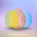 Easter Egg On Blurred Background With Place For Royalty Free Stock Photos - 51759858