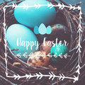 Easter Eggs Photo Composition Stock Photo - 51760950