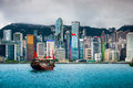 Hong Kong Skyline Stock Photo - 51762970