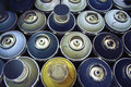 Spray Paint Cans, Stock Image - 51766581