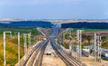 High-speed Railway LGV Est Phase II Under Construction Near Save Royalty Free Stock Photo - 51777595