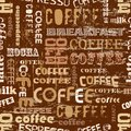 Coffee Seamless Pattern Royalty Free Stock Images - 51792889