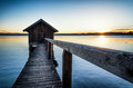 Old Wooden Boathouse Royalty Free Stock Photos - 51807618