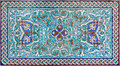 Jerusalem -  The Tiled Decoration In Vestibule Of St. James Armenian Cathedral From End Of 19. Cent. Stock Photos - 51822023