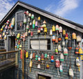 Maine Lobster Pound Shack Stock Image - 51832601