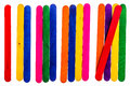 Colorful Wood Ice Cream Stick Royalty Free Stock Images - 51841459