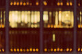 Defocused, Blurred Urban Background, Reflection In Office Windows At Night Royalty Free Stock Image - 51847406