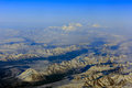 Flying From Fairbanks To Anchorage, Shooting In Airplane Royalty Free Stock Photography - 51849657