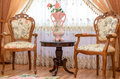 Antique Luxury Wooden Chairs In Interior Of The Royalty Free Stock Photo - 51856555
