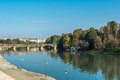 Reflection In The Po River, Turin, Italy Stock Photos - 51881723