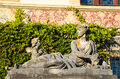 Statue At Peles Castle Stock Images - 51889114