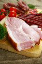 Meat And Sausage Stock Photo - 5191330