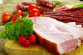 Meat And Sausage Royalty Free Stock Images - 5191439