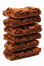 Stack Of Brownies Stock Image - 5199041