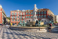 Fountain Of The Sun At Place Massena In Nice Royalty Free Stock Image - 51900306
