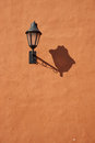 Lamp On Orange Wall Royalty Free Stock Image - 51926906
