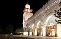 King Hussein Bin Talal Mosque In Amman (at Night), Jordan Royalty Free Stock Photos - 51939858