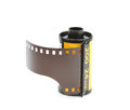 35mm Photo Film Reel,  Isolated On White Background Stock Photos - 51941593