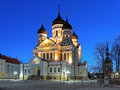 Alexander Nevsky Cathedral In Tallinn In Early Morning, Estonia Stock Photography - 51945562