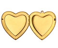 Picture Frame - Open Heart Locket Stock Photo - 51954210