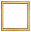 Gold Square Picture Frame Stock Photo - 51954330