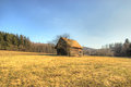 Lonely Wooden Cottage Royalty Free Stock Image - 51956386