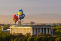 Angry Birds And Dodo Hot Air Balloons In Canberra Royalty Free Stock Photos - 51957828