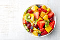 Fresh Fruit Salad Royalty Free Stock Photos - 51971988