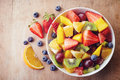Fresh Fruit Salad Stock Images - 51971994