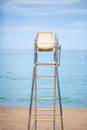 The Lifeguard Chair On The Beach Royalty Free Stock Images - 51999929
