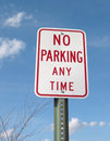 No Parking Sign Stock Photography - 522312