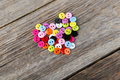 Sewing Buttons Royalty Free Stock Image - 52060646